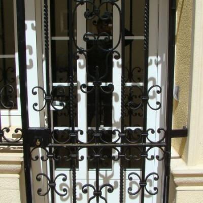 Puerta verja