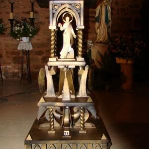 Soporte vela eclesiástica