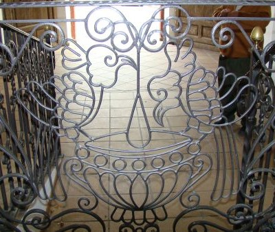 Detalle baranda puerta del arco