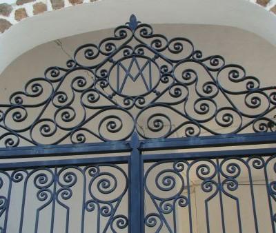 Detalle puerta virgen de cortes